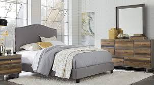 moss creek silver 7 pc upholstered queen bedroom queen bedroom