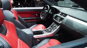 land rover convertible interior love it or it this is the 2017 evoque convertible slashgear