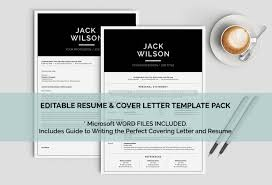 Best Resume Templates Etsy by Modern Man Resume Template Mac Or Pc Minimalist Resume 1 Page