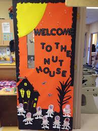 Classroom Door Decorations For Halloween Halloween Door Decorations Peeinn Com