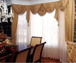 valance swag curtains with valance curtain over wood blinds