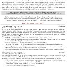 Sample Hr Executive Resume by Inspiring Design Sample Hr Resume 2 Resume Sample 17 Resume Example