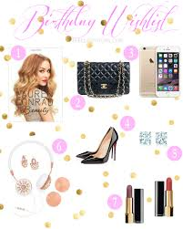 www my wish list my birthday wishlist 2015 the it girl