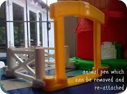 Fisher Price Barn Bounce House Fisher Price Little People Fun Sounds Farm And Racin U0027 Ramps Garage