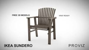 Ikea Outdoor Chairs by Free 3d Models Ikea Sundero Outdoor Furniture Series Youtube