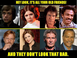 Lando Calrissian Meme - everyone seems to be excited that the old cast might return for