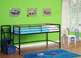 simple metal loft beds for kids ideas awesome metal loft beds