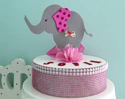 elephant baby shower centerpieces elephant centerpiece etsy studio