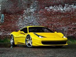 Ferrari 458 Yellow - ferrari 458 italia wallpaper wallpapers browse