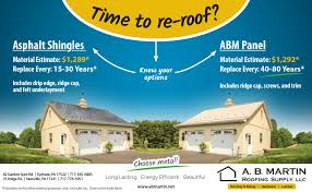 is a metal roof way more expensive than asphalt shingles a b