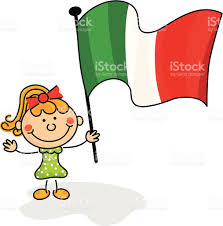 Italy Flag Images Italy Flag Kids Stock Vector Art 166082482 Istock