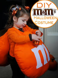 m m costume two it yourself diy m m costume with matching hair bows