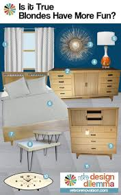 Bedroom Design Ideas For Roberts Blonde Vintage Furniture Retro - Mid century modern blonde bedroom furniture