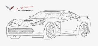2014 chevy corvette stingray line art dw2 art productions