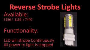 strobe light light bulb 3156 strobe lights reverse youtube