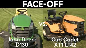 john deere vs cub cadet the best deer 2017