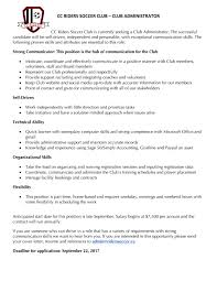 Contract Administration Job Description Sns Cc Riders Sc Powered By Goalline