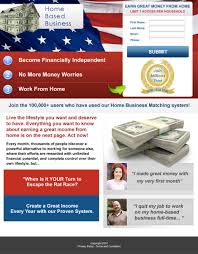 business opportunity landing page design
