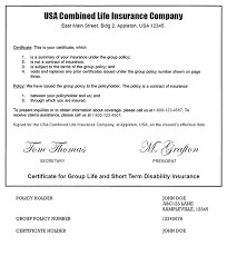 life insurance policy template best business template