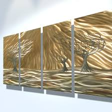 wall arts metal wall art abstract contemporary sculpture home