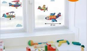 fensterfolie kinderzimmer kinderzimmer kinderzimmer deko flugzeug tausende fotosammlung