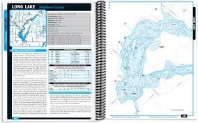 Namekagon River Map Northwest Wisconsin Fishing Map Guide Northern Region