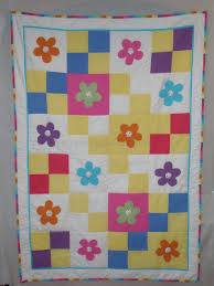 brights flower seersucker quilt pattern the little lavender patch