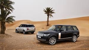black range rover wallpaper auto rover black range rover in the desert