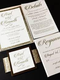 Bling Wedding Invitations Elegant Wedding Invitations By Blueenvelope On Someday