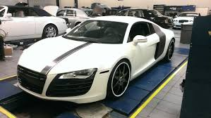 wrapped r8 audi r8 satin pearl with black chome u2014 incognito wraps
