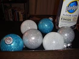 Glitter Christmas Ornaments Floor Wax by Diy Project Super Easy So Beautiful Glitter Ornaments U2013 Great