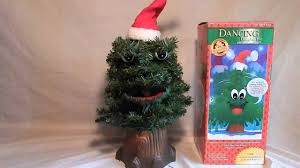 singing talking dancing douglas fir christmas tree youtube