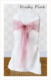 pink chair sashes chair sash hire for weddings