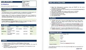infosys resume format for freshers pdf sle resume format for experienced candidates krida info
