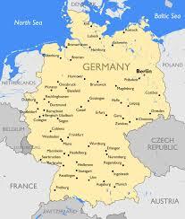 map o germany map germany