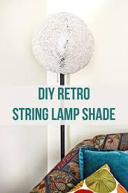 Lampshade For Floor Lamp Diy Retro String Lamp Shade