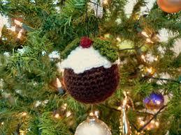 crocheted christmas crocheted christmas pudding christmas crochet