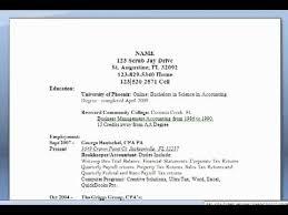 3 common resume styles