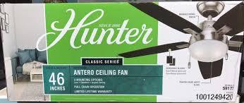 no1 59177 antero 46 in indoor brushed nickel ceiling fan