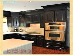 Kitchen Black Cabinets Paint Kitchen Cabinets Black Size Of Kitchen Black Cabinets