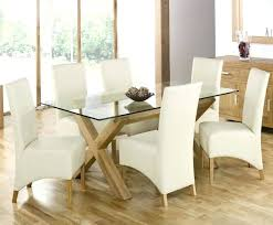 Glass Top Dining Room Table Sets Stunning Glass Top Dining Room Table And Chairs Photos