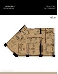 floor plans fairmont marina residences abu dhabi
