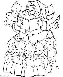 religious christmas pictures color kids coloring
