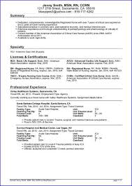 Sample Rn Nursing Resume by Sample Travel Nursing Resume Free Template Nursing Resume