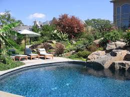 Backyard Swimming Pool Design Pool Landscaping Ideas Beautiful - Backyard landscape designs with pool