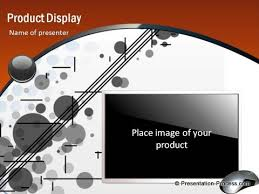 product display sales pitch template