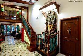 carved ganesha blessing the main entrance malvankar house renomania