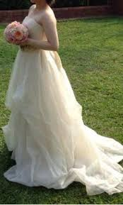 vera wang dinah 1 600 size 8 used wedding dresses