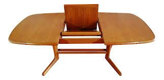 Dining Table Teak Danish Modern Teak Butterfly Dining Table Chairish