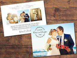 wedding photo thank you cards print templates wedding thank you cards gratitude thank you card